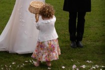 Flower Girl Wedding Ceremony small