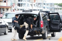 Secret Service SUV small