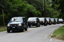 POTUS Motorcade Martha's Vineyard small