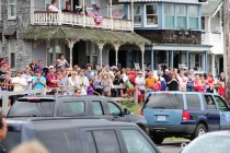 Oak Bluffs Public waiting Obamas Arrival small