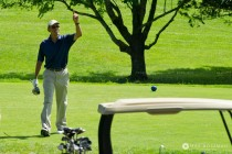 Barack Obama Golf small