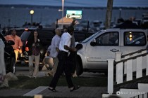 Barack Obama Arriving OB Fireworks small