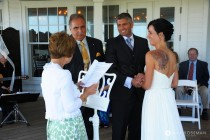 Wedding Ceremony Edgartown small