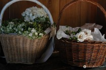 Wedding Flower Baskets small