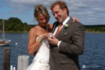 Bride and Groom, Nashaquitsa Pond Chilmark MA small
