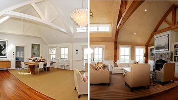 before after renovation photography