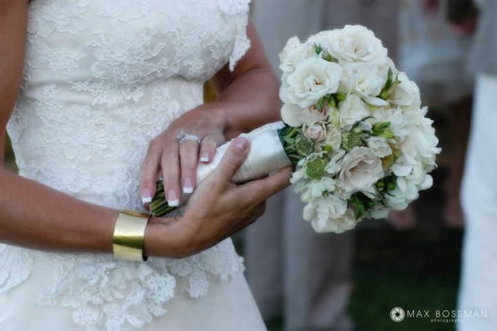 Bridal Bouquet Wedding Photography Martha's Vineyard