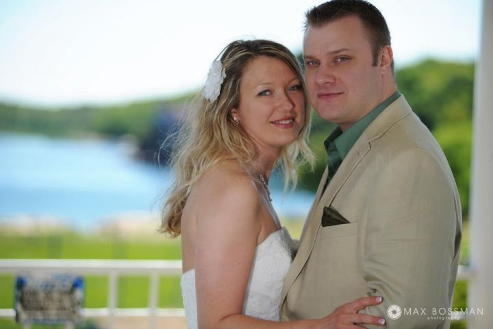 Wedding portrait photography in Stage Fort Park Gloucester, MA