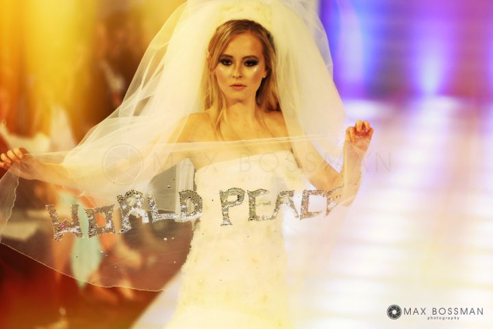 New York Fashion Week - World Peace Bridal Dress, Laila Wazna Designer